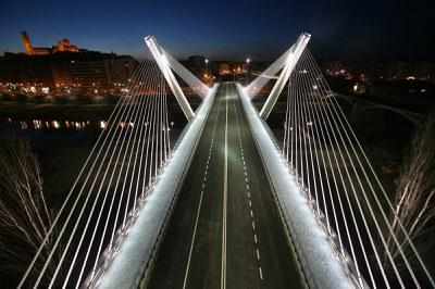 La Paeria millora el nivell lumínic del pont de Príncep de Viana