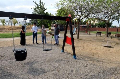 Imatge de la notícia La Paeria promou la renovació dels parcs infantils de la ciutat