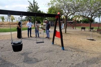 La Paeria promou la renovació dels parcs infantils de la ciutat