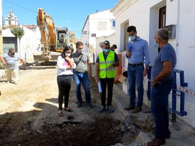 La Paeria renova les xarxes d'aigua i clavegueram de diversos carrers de Sucs