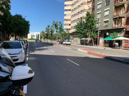 Imatge de la notícia La Paeria repinta la senyalització horitzontal de tot el Passeig de Ronda