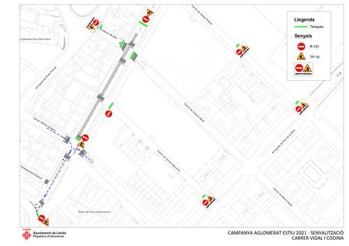 Imatge de la notícia Millora del paviment al carrer Vidal i Codina de Pardinyes aquest divendres