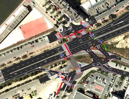 Imatge de la notícia Nova connexió transversal de la LL-11 per a vehicles, vianants i ciclistes que millorarà l'enllaç entre Cappont, Copa d'Or i la Bordeta