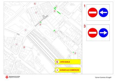 Obres de renovació del ferm als carrers Pla d'Urgell i Comtes d'Urgell