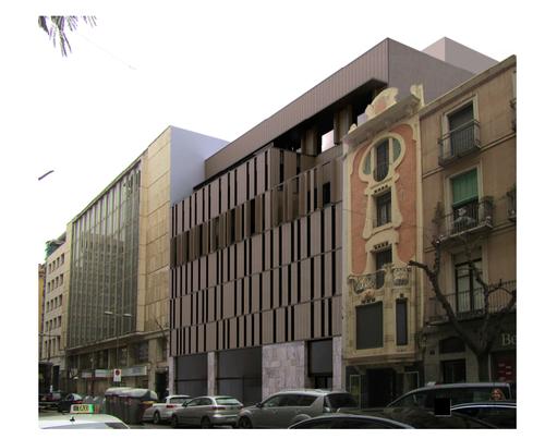 Imatge de la notícia Pla de millora urbana per al solar de Blondel 94/Sant Antoni 33