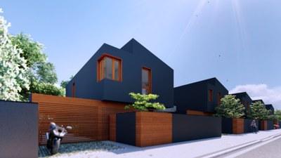 Tramitació d'un pla per construir 5 habitatges i un edifici residencial al carrer Baldomer Gili, al costat d'Agrònoms