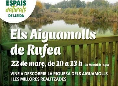 Imatge de la notícia ACTIVITAT SUSPESA - Celebra el dia de l'Aigua als Aiguamolls de Rufea!