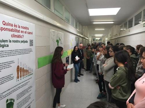 Imatge de la notícia Calculant la petjada ecològica de l'INS Guindàvols