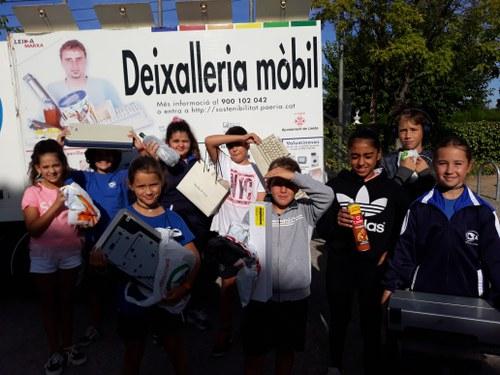 Imatge de la notícia Deixalleria mòbil a l'escola i molt més