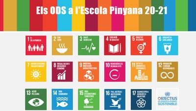 A l'Escola Pinyana de Lleida estrenem la web dels ODS