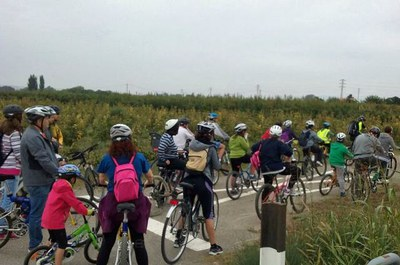 Imatge del event Ecodescoberta. Els racons de l'Horta de Grenyana i el riu Segre, amb bicicleta