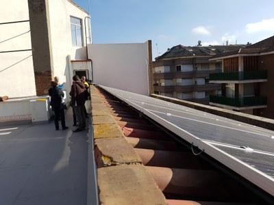 ECODESCOBERTA. Planta fotovoltaica d'autoconsum de les llars del Seminari: un projecte ambiental i social