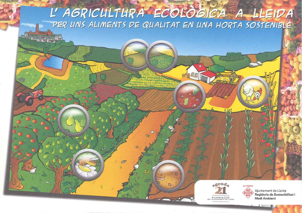 Imatge poster agricultura ecologica Lleida