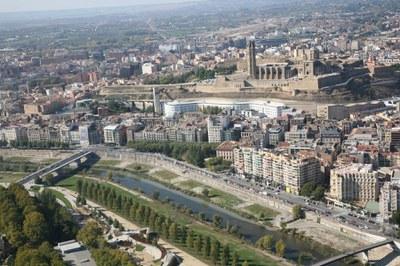 Actuació de millora ambiental del tram urbà del Segre a Lleida