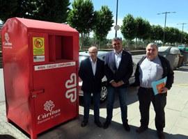 Augmenta un 10% la recollida i la reutilització de roba usada a Lleida durant l'any 2018