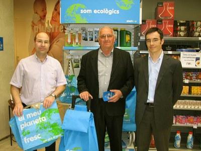 Campanya per reduir el consum de bosses de plàstic d'un sol ús