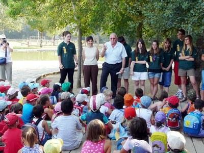 Camps de treball per a joves al Parc de la Mitjana de Lleida