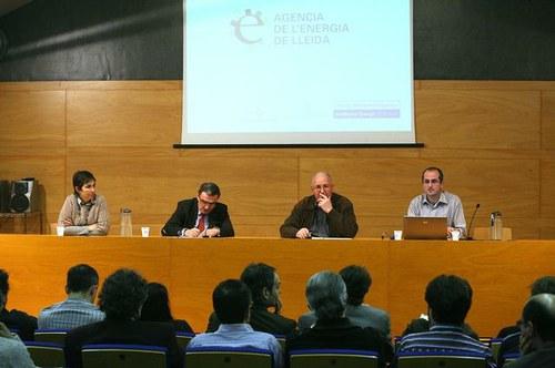 Imatge de la notícia Constituït el Consell de Participació de l'Agència de l'Energia de Lleida
