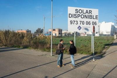 Darrers dies per presentar ofertes per la compra d'una parcel·la residencial lliure a Ciutat Jardí propietat de l'EMU