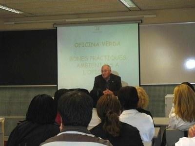 Es presenta el programa de formació a les Ecoentitats de Lleida