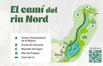 Estrena popular de l'obertura d'un nou pas del Camí del Riu Segre aquest diumenge