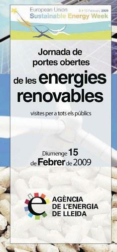 Imatge de la notícia Jornada de portes obertes d'instal·lacions d'energies renovables
