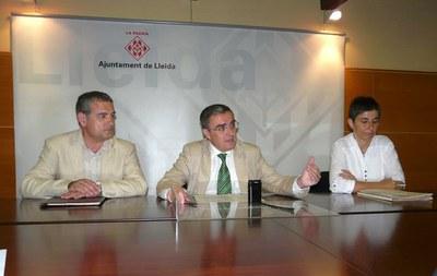 L'alcalde de Lleida, Àngel Ros, ha presidit la reunió del Patronat de la Fundació Lleida 21.