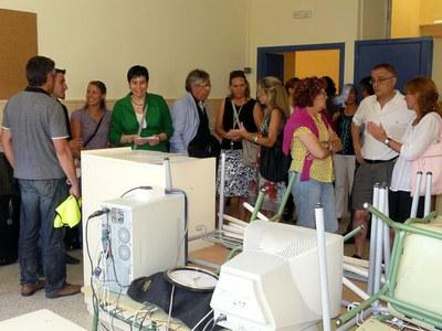 La Paeria adequa i millora vuit centres escolars i quatre ludoteques