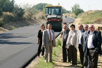La Paeria asfalta quatre camins de l'Horta i en millora cinc més