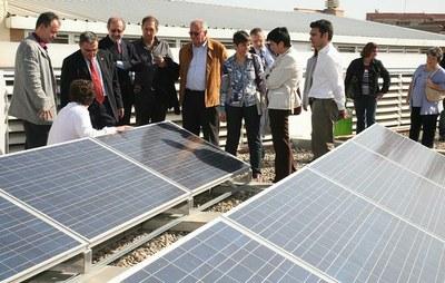 La Paeria instal·la plaques fotovoltaiques en 4 centres escolars