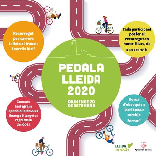 Imatge de la notícia La Paeria organitza la tradicional pedalada popular amb motiu de la Setmana de la Mobilitat Sostenible i Segura