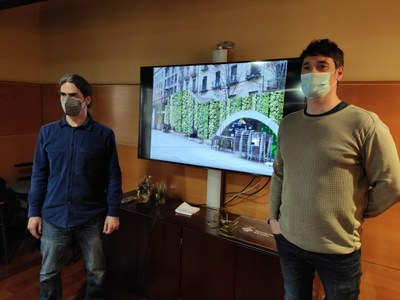 La Paeria presenta un projecte de remodelació verda de la plaça Sant Joan amb 22 nous arbres
