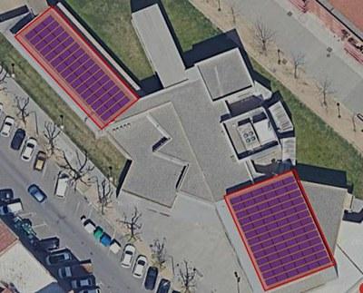 La Paeria projecta 100 panells d'energia fotovoltaica en la primera instal·lació d'autoproducció sobre un edifici municipal
