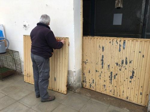 Imatge de la notícia La Paeria renova l'àrea de quarantena del Refugi dels Peluts i amplia la zona calefactada per protegir els animals més vulnerables
