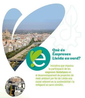 La Regidoria de Transició Ecològica impulsa «Empreses Lleidaenverd» per cercar la implicació del teixit empresarial en projectes ambientals
