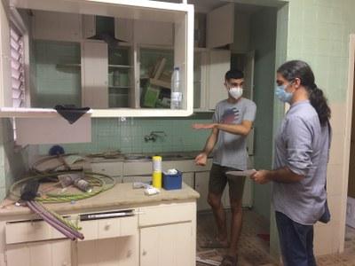 L'EMU cedeix dos habitatges per a un projecte de masoveria urbana per a joves que els reformaran i tindran un lloguer assequible