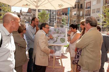Les obres de la plaça Ricard Viñes entren en la seva recta final