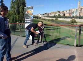 Les passarel·les del riu, punts d'observació per commemorar el Dia Mundial dels Ocells