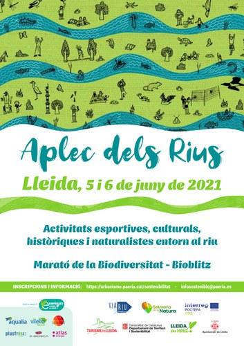 Imatge de la notícia Lleida celebra l'Aplec dels Rius aquest cap de setmana