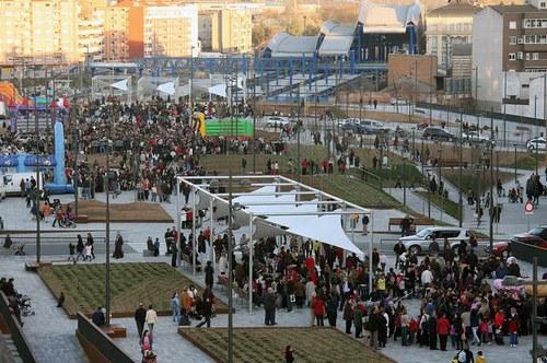 Imatge de la notícia Lleida inaugura el Parc sobre les Vies