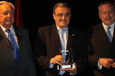 Lleida rep l'Escombra de plata que reconeix la seva gestió mediambiental