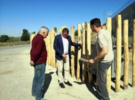 Millora paisatgística de tres àrees de contenidors de l'Horta