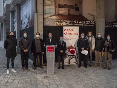 Primers 24 habitatges en règim cooperatiu de cessió d'ús a Lleida, al carrer Bruc de Cappont