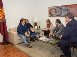 Imatge de la notícia Reunió entre la Paeria i Bankia per analitzar vies de col·laboració en matèria de cessió d'habitatges per a ús social