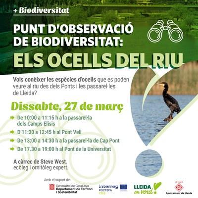 S'inicien els punts d'observació de la biodiversitat urbana