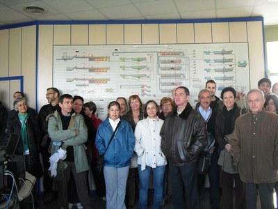 Una seixantena de persones participen en la visita a l'Estació Depuradora de Lleida