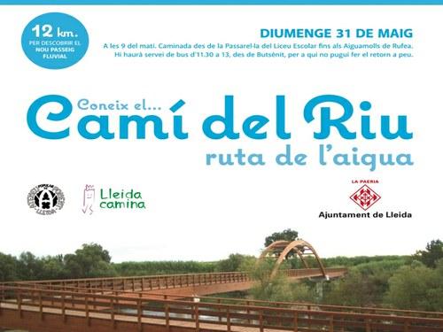 Imatge de la notícia Vine a conèixer el Camí del Riu Ruta de l'Aigua