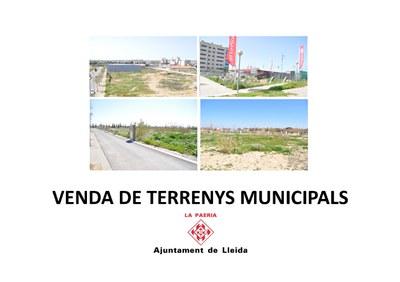 Presentació de venda de sòl municipal