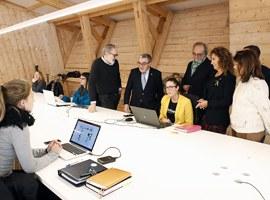 Imatge de la notícia En marxa la Casa de Fusta, un nou espai de coworking per a emprenedors situat al Centre Històric