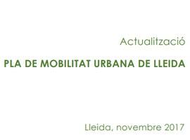 Actualització del Pla de Mobilitat Urbana de Lleida (PMU)